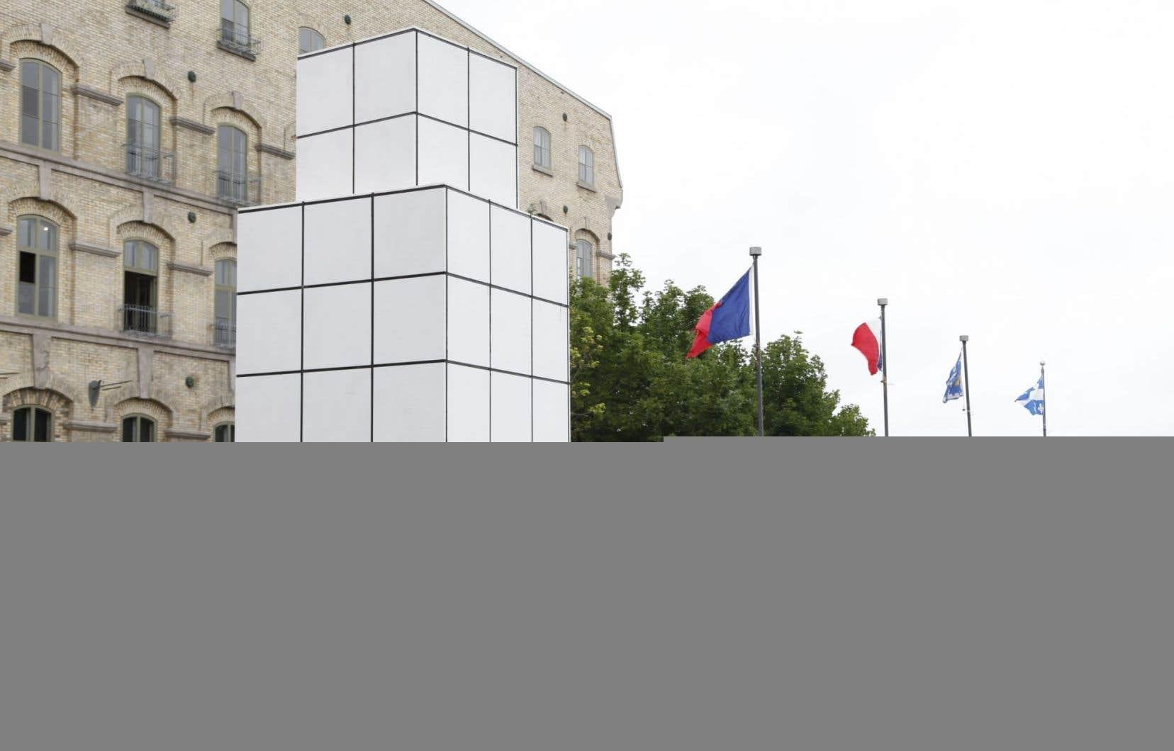 «Dialogue avec l'histoire», de Jean-Pierre Raynaud