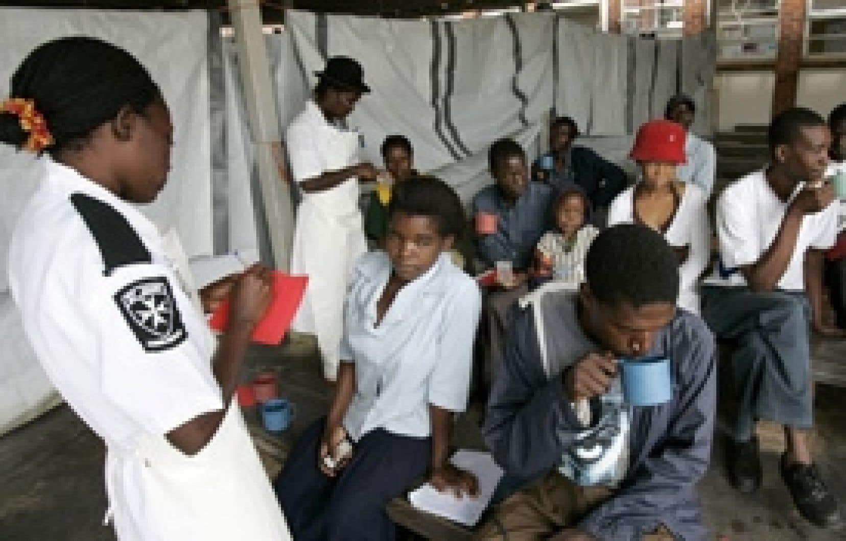 Une polyclinique à Harare