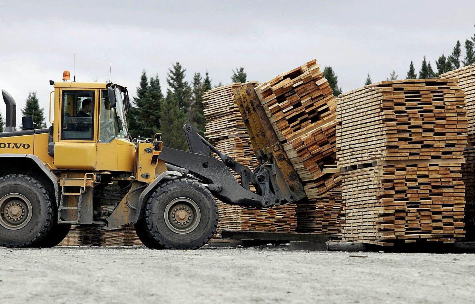 Produits forestiers Résolu ne croit pas que le Canada devrait accepter une proposition restreignant l'accès au marché américain.
