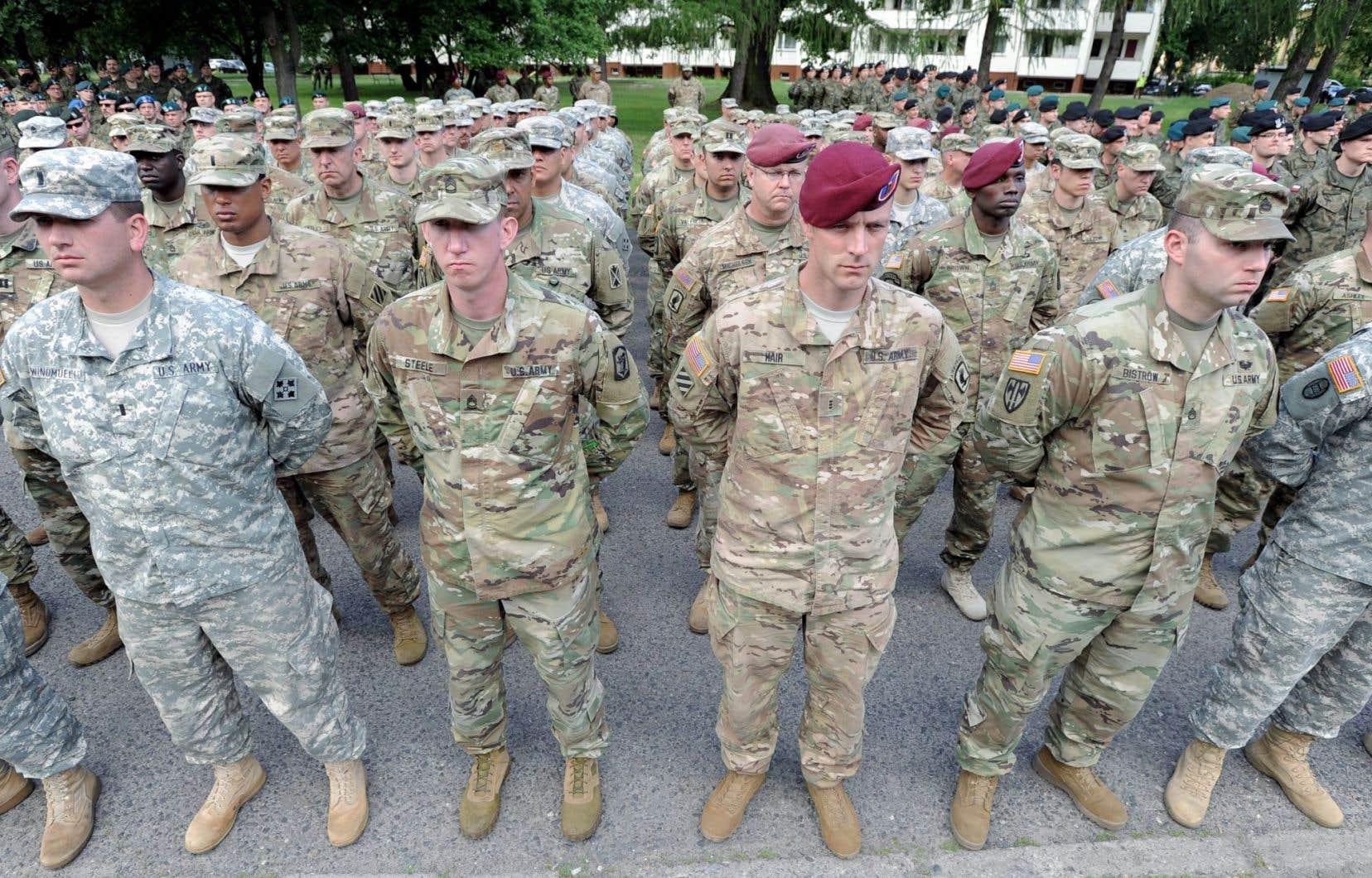 Le 6 juin dernier, pas moins de 31 000 soldats de différents pays ont participé à un exercice appelé «l'Union des Rouges», en Pologne.