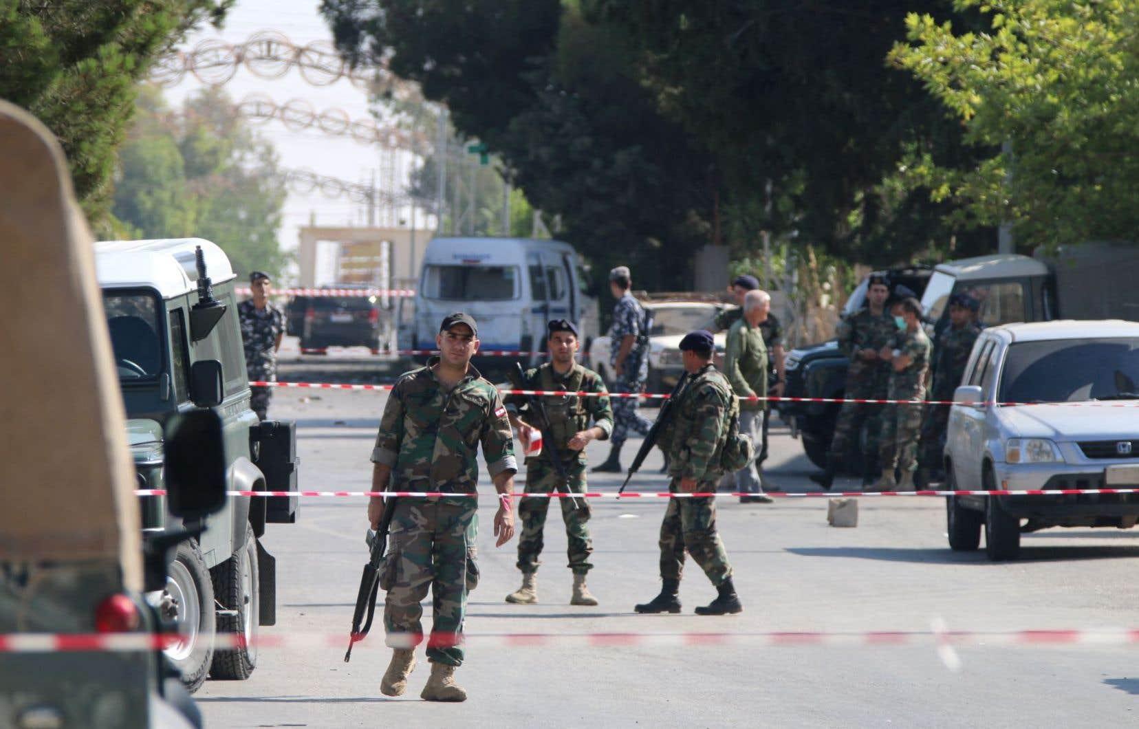 La zone d'Al-Qaa où ont eu lieu des attentats suicides a été sécurisée par les forces libanaises.