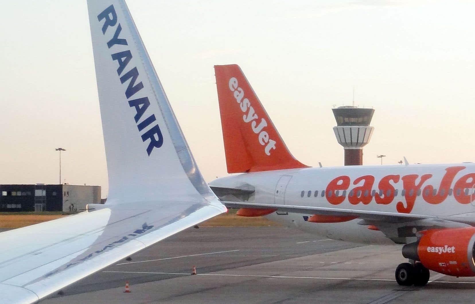 Les compagnies aériennes bon marché, comme EasyJet ou Ryanair, ont indiqué que la sortie de l'Union européenne de la Grande-Bretagne n'était pas sans conséquence pour leurs états financiers.