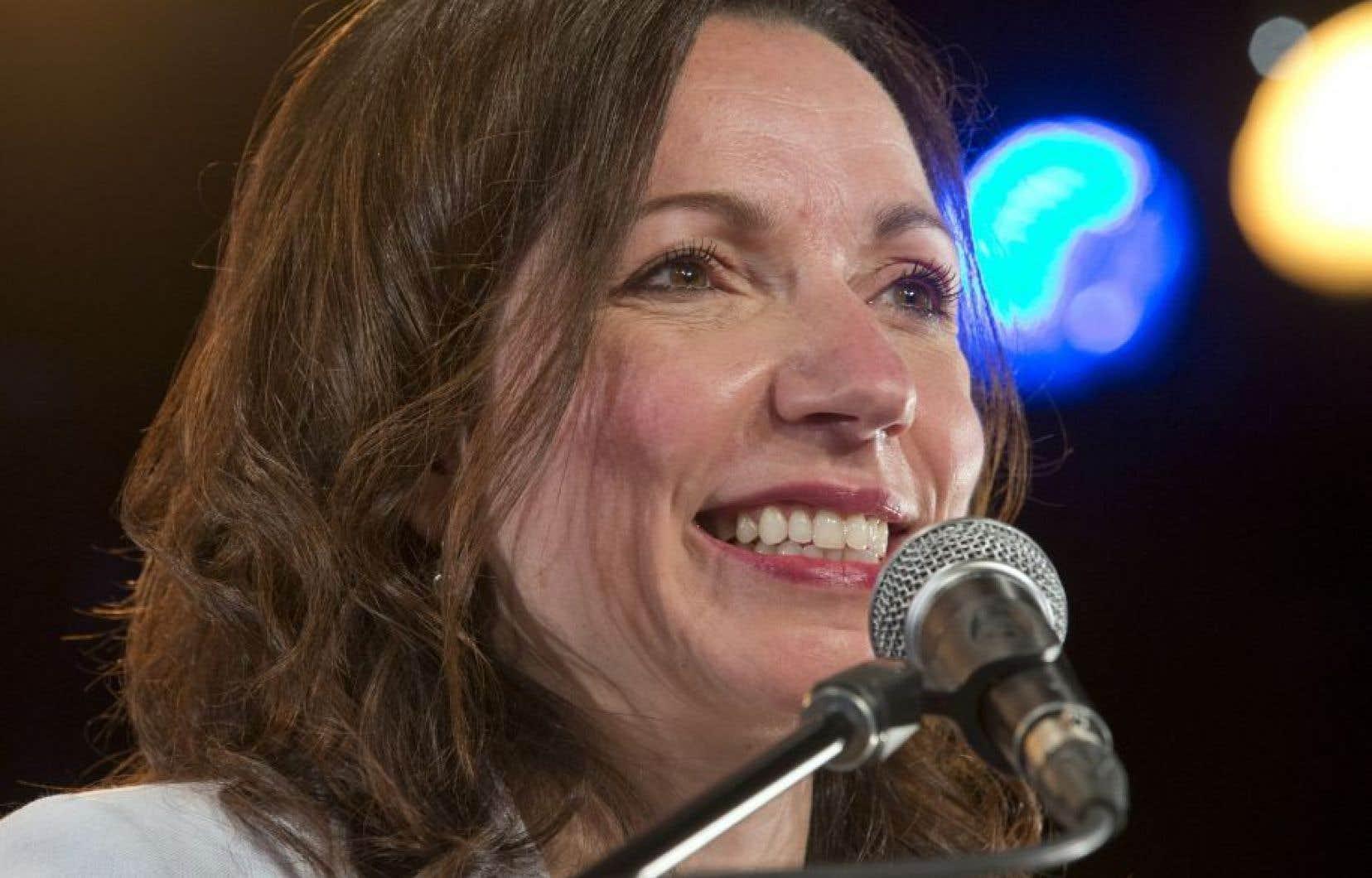 La députée de Vachon Martine Ouellet