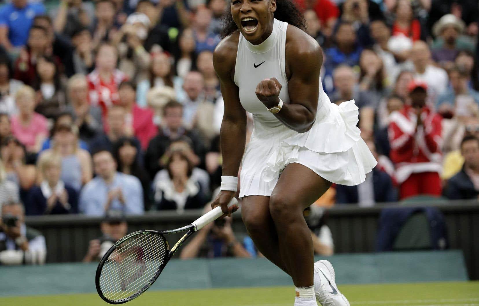 Serena Williams a puisé dans sa vaste expérience des grands rendez-vous — et misé aussi sur son puissant service — pour venir à bout de sa compatriote américaine Christina McHale.