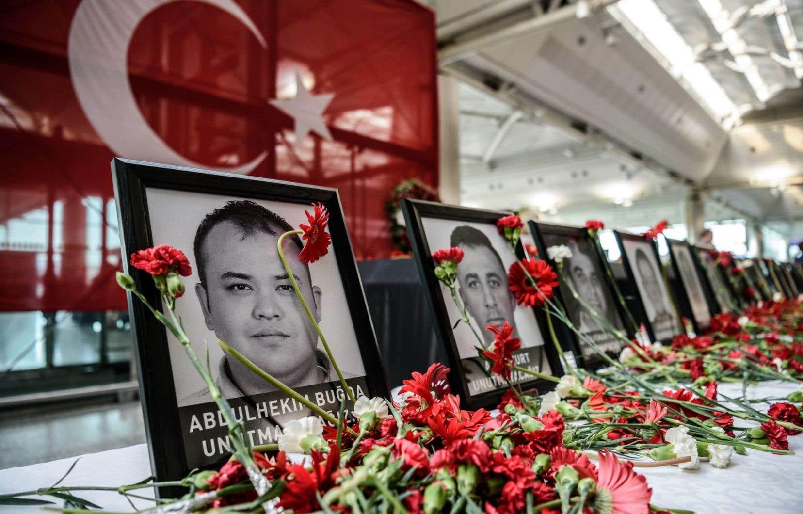 L'attentat qui a frappé le terminal international de l'aéroport Atatürk le 28 juin a fait plus de 40 morts de 13 nationalités