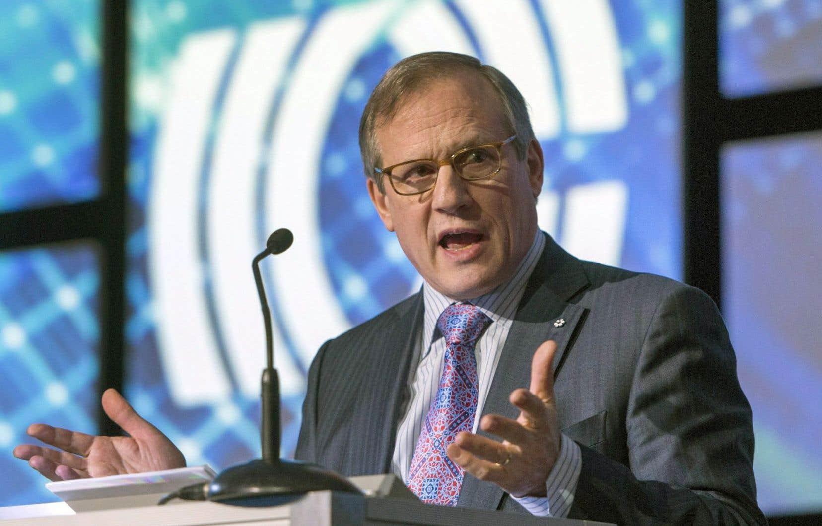 Le président et chef de la direction de Cogeco et Cogeco Communications, Louis Audet