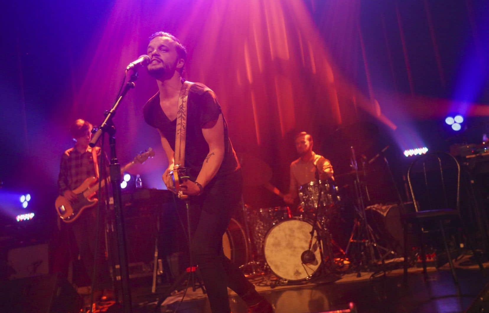 Le chanteur suédois Jens Kristian Matsson, alias The Tallest Man on Earth
