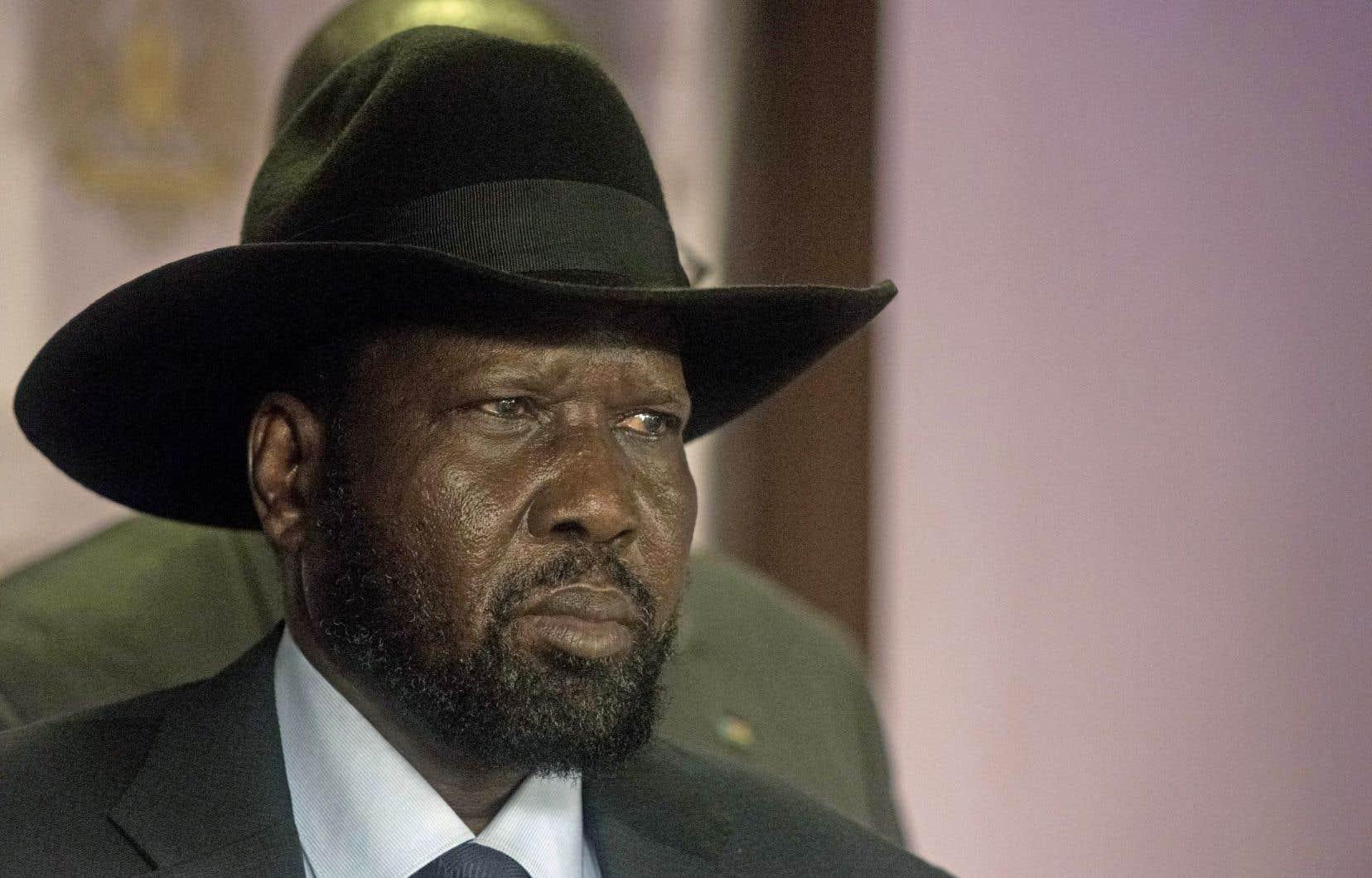 Le président du Soudan du Sud, Salva Kiir