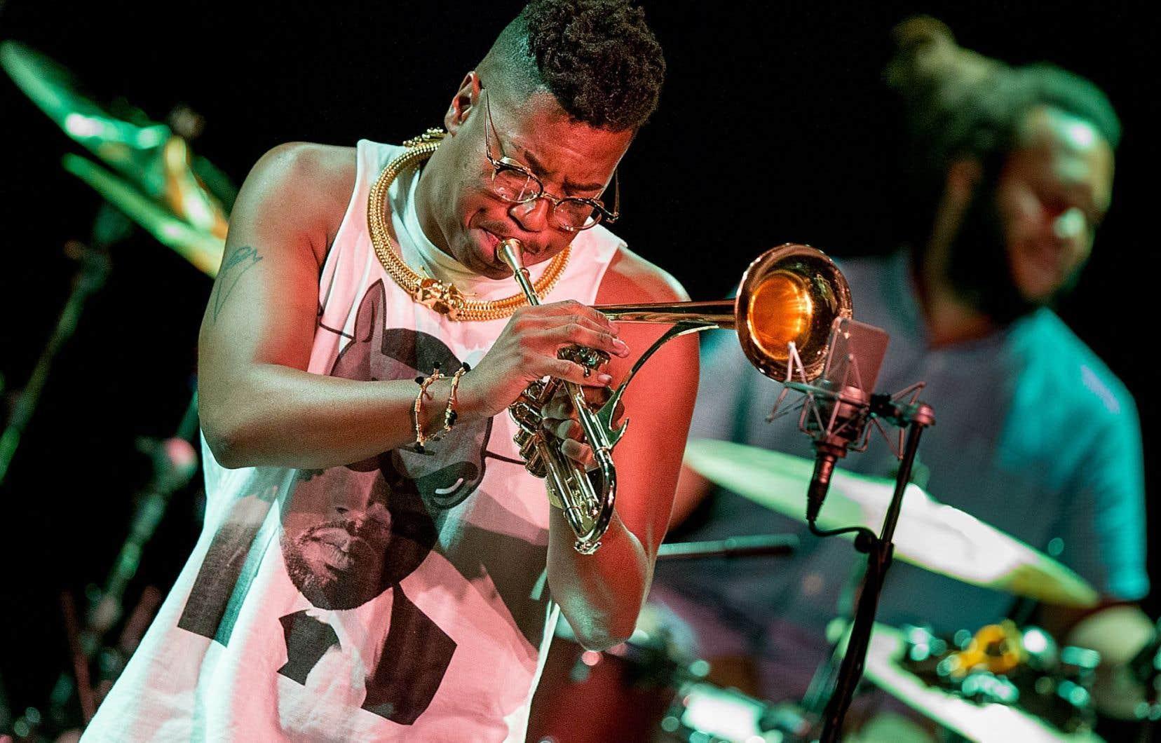 Les trois spectacles de la série Invitation du trompettiste Christian Scott ont été mémorables.