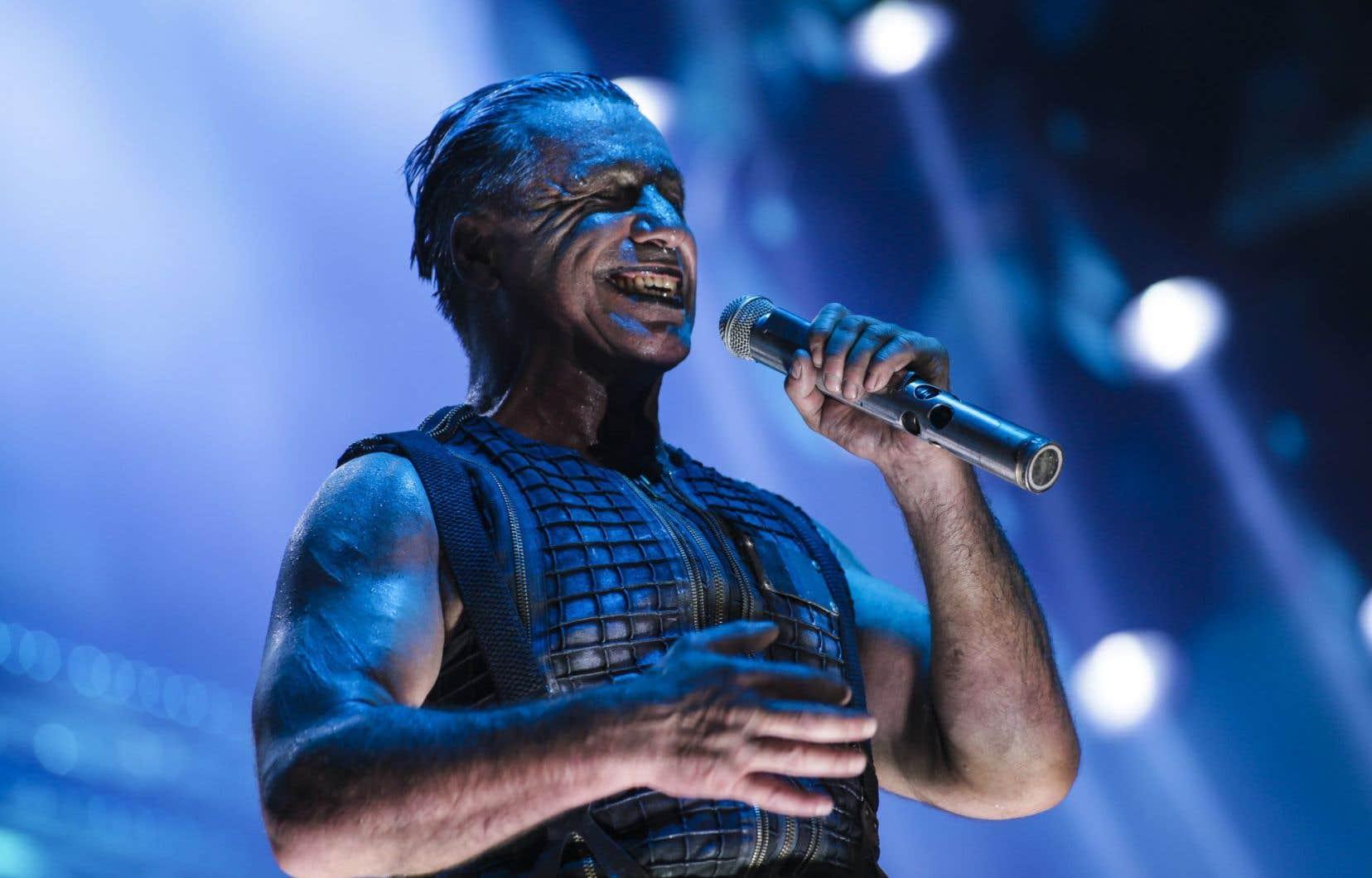 Le chanteur de Rammstein, Till Lindemann