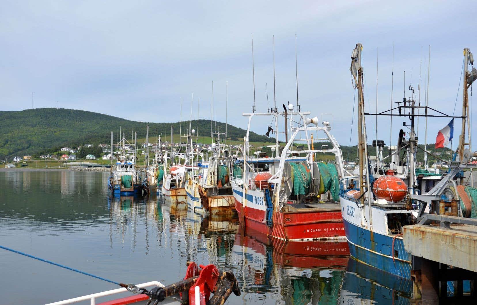 Le port de pêche de Rivière-au-Renard, en Gaspésie