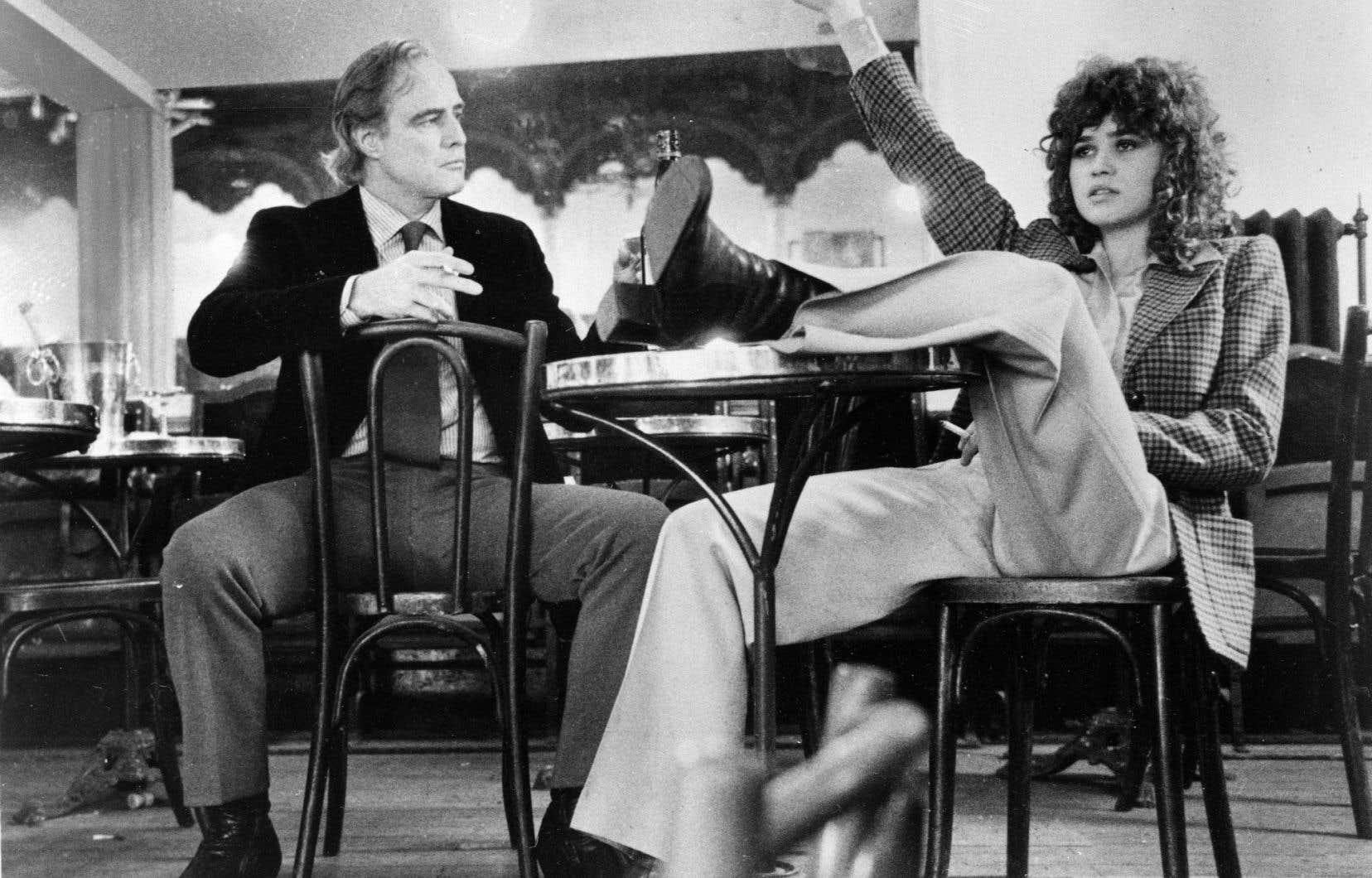 Scène tirée du film «Le dernier tango à Paris» (1972) deBernardo Bertolucci.