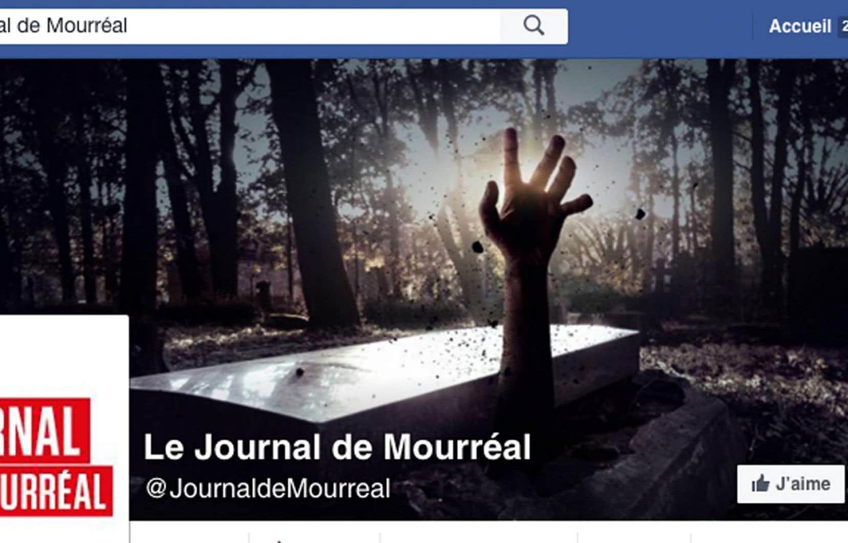 Fort du soutien financier offert par l'humoriste Mike Ward, qui compte lui offrir les recettes d'un spectacle qu'il tiendra en octobre pour la liberté d'expression, Le Journal de Mourréal continue donc de publier.