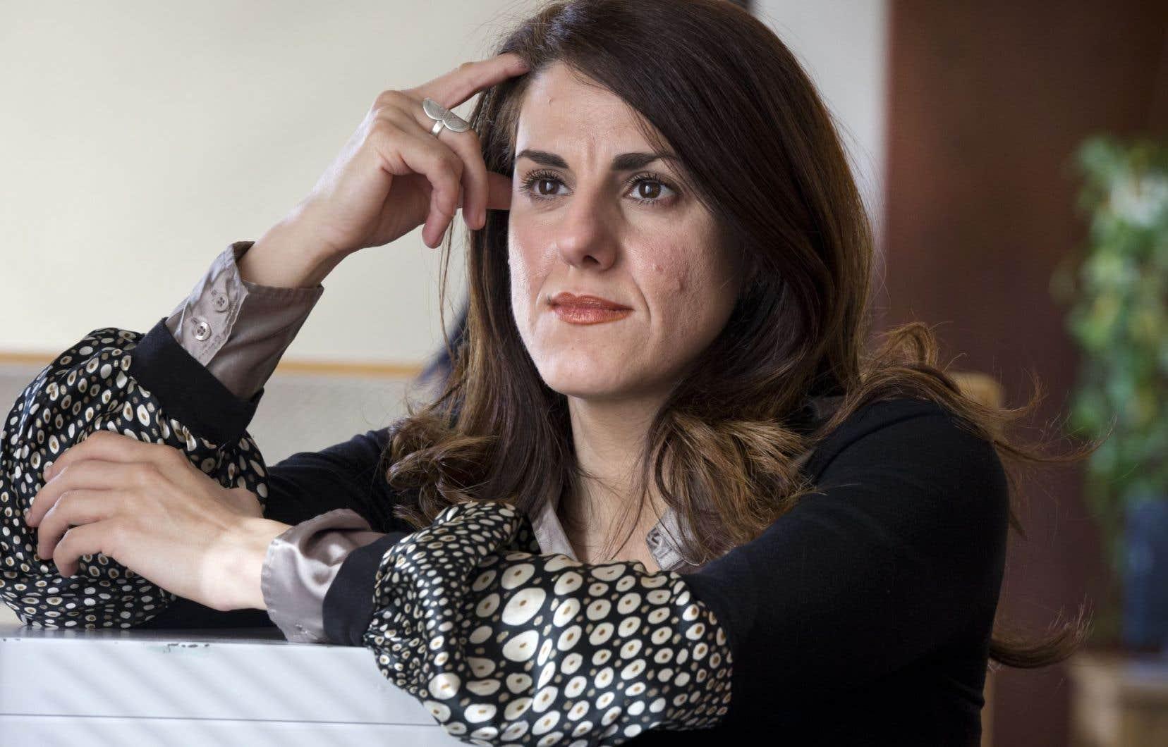 Djemila Benhabib en février dernier