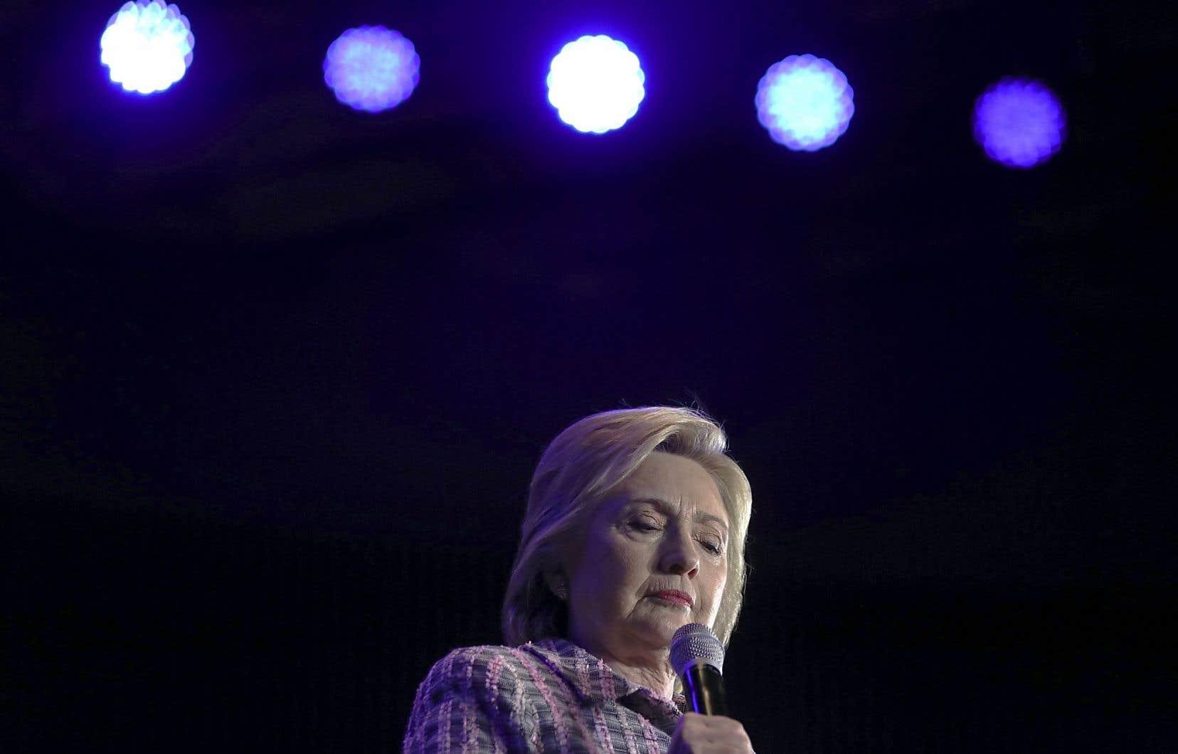 Hillary Clinton à Charlotte, en Caroline du Nord, le 25 juillet