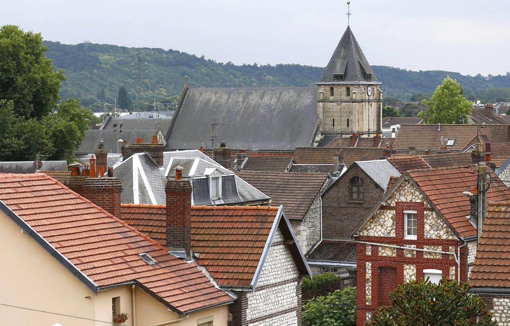 L'église de Saint-Étienne-du-Rouvray a été ciblée.
