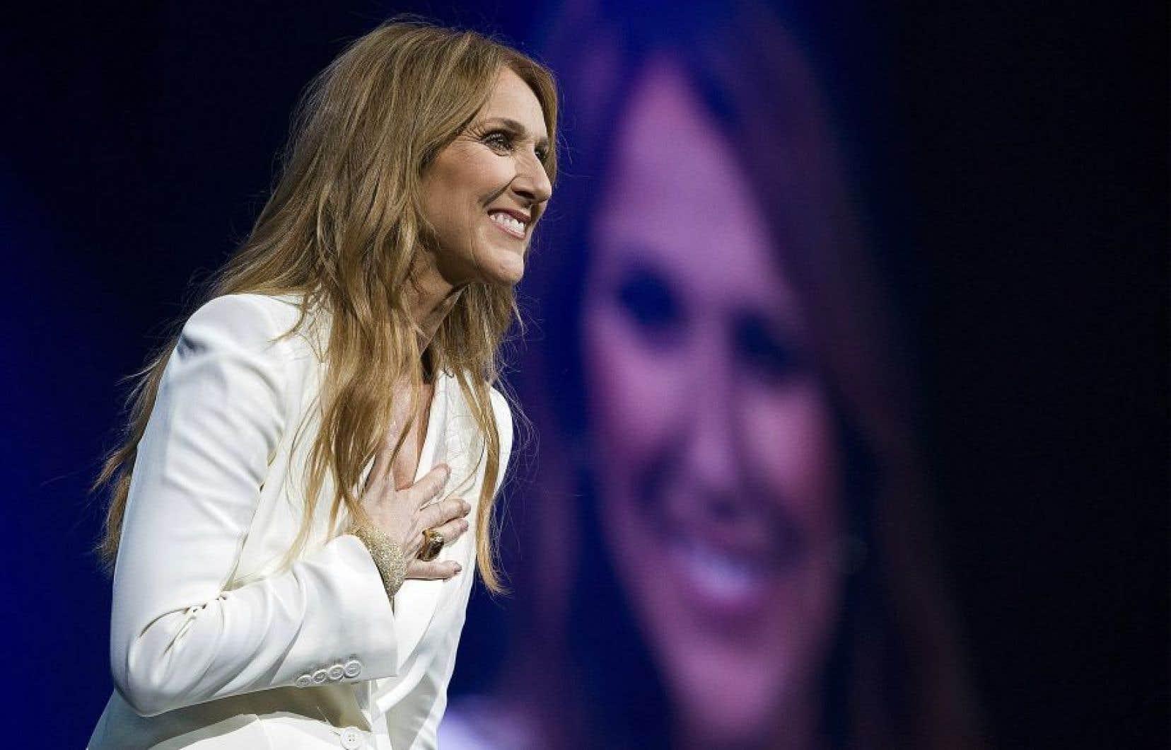 Céline Dion a parlé d'elle pendant plus de 90 minutes, tard dimanche soir.
