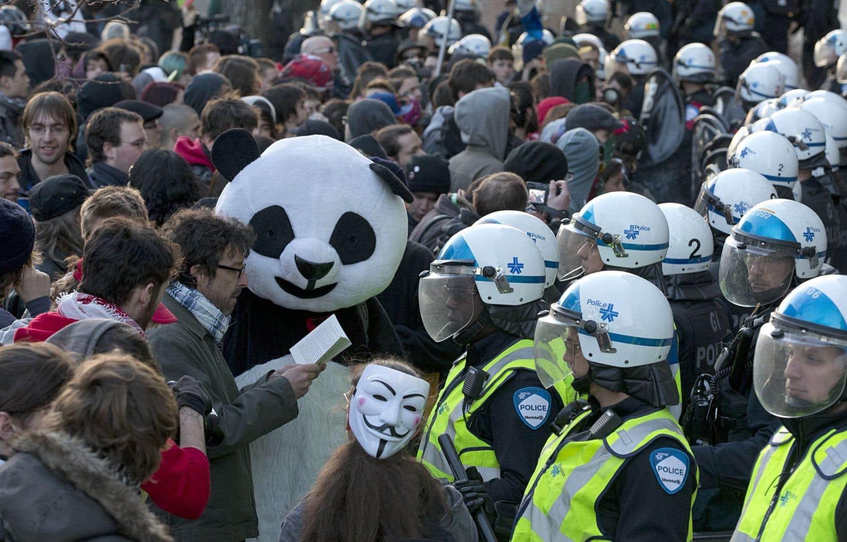 Selon Julien Villeneuve, cette décision ne tient pas la route et témoigne d'une incompréhension du fonctionnement des manifestations.