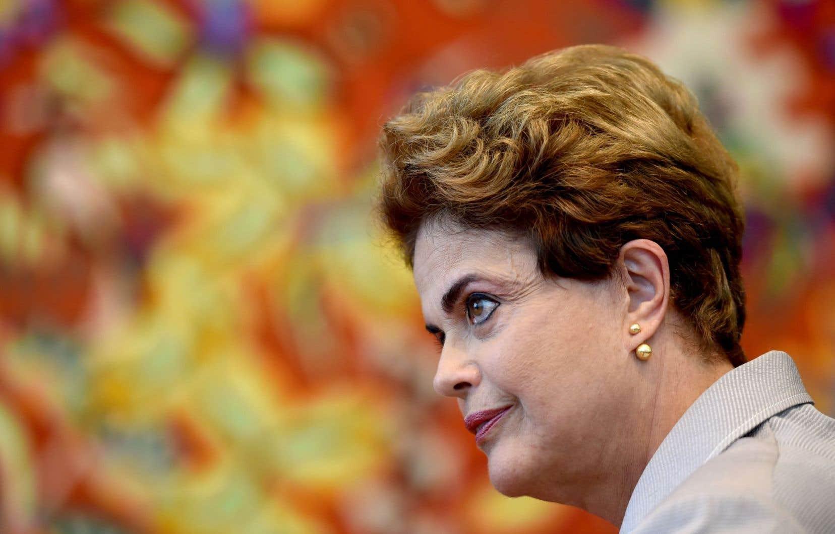 La présidente brésilienne Dilma Rousseff a été suspendue de ses fonctions le 12 mai dernier.