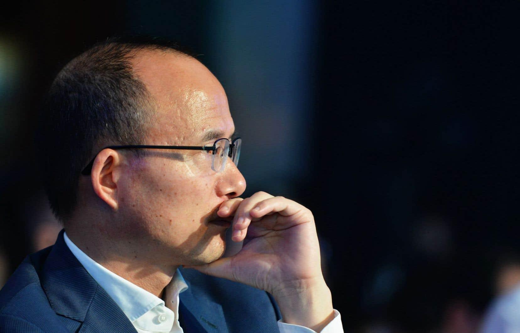Le président de Fosun, Guo Guangchang