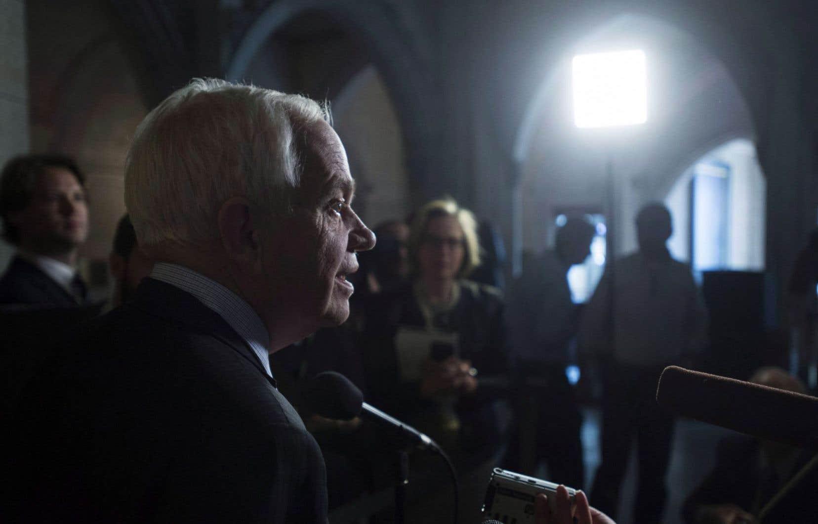 Le ministre fédéral de l'Immigration, des Réfugiés et de la Citoyenneté, John McCallum