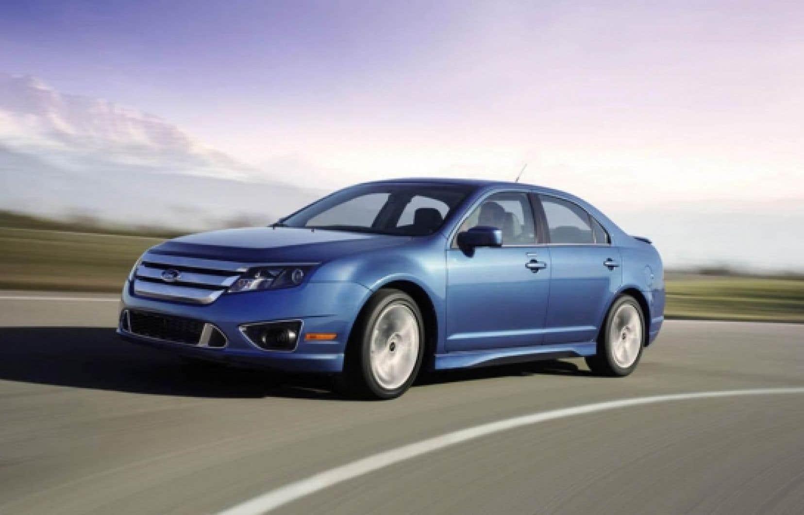 La Ford Fusion a été choisie Voiture américaine de l'année, la semaine dernière, à Detroit.