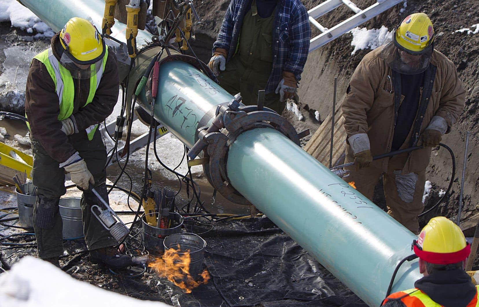 Le géorisque le plus important pour un oléoduc est celui de la liquéfaction et de l'affaissement du sol.