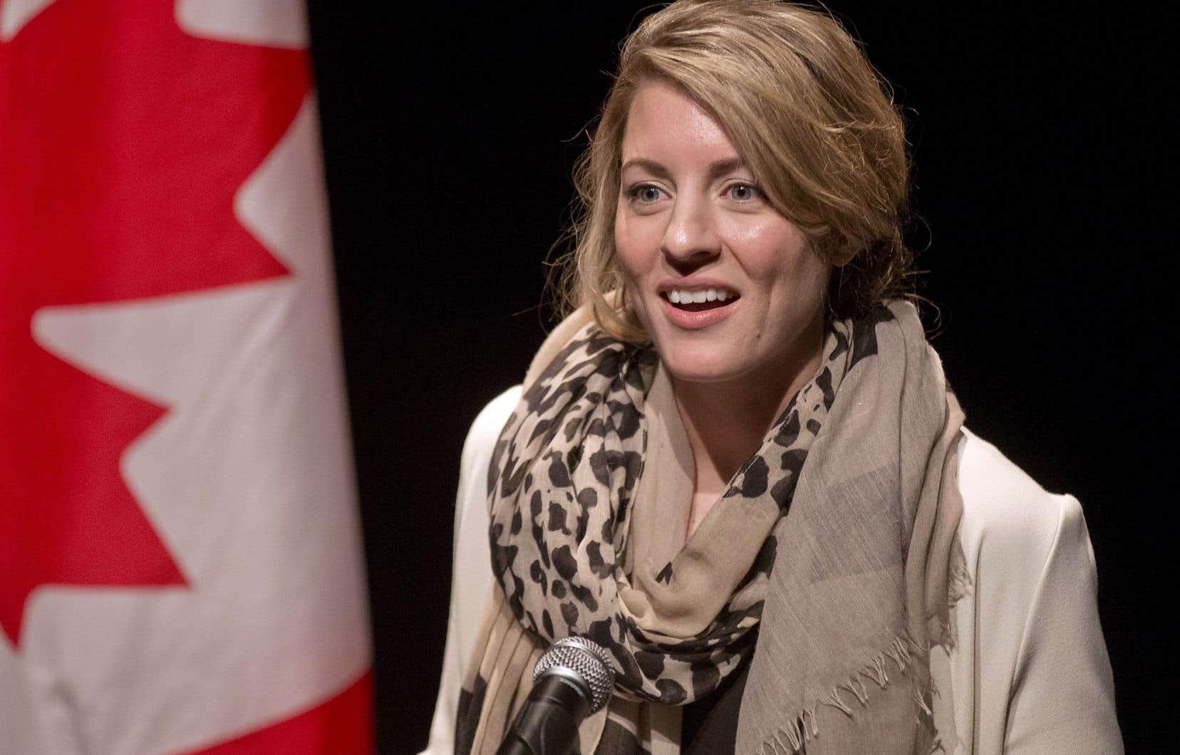 La ministre du Patrimoine canadien, Mélanie Joly, a affirmé vouloir contribuer, par cette aide de plus d'un demi-million de dollars, à enrichir l'offre culturelle lavalloise.
