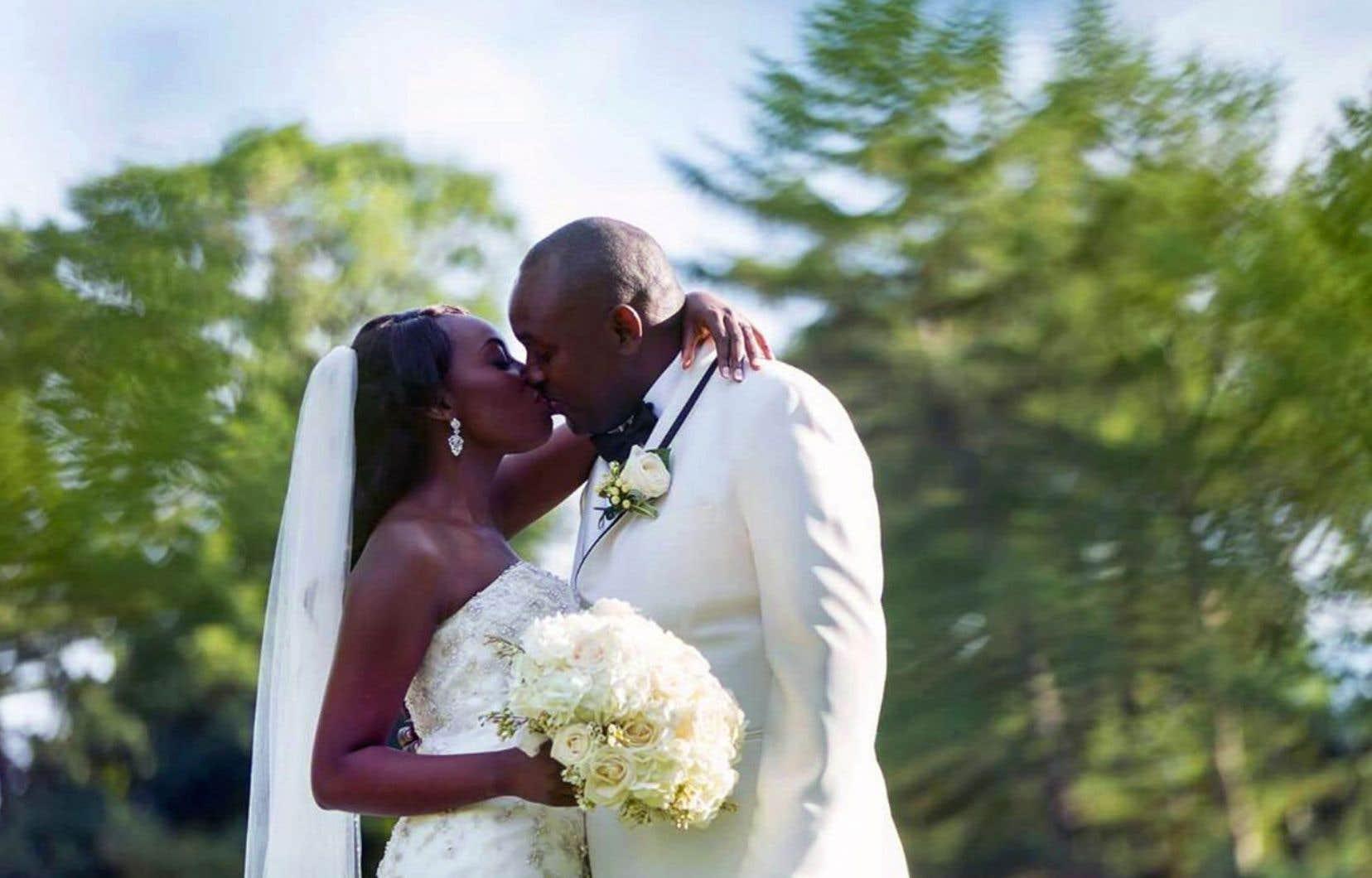 Sarah Pyndji et Fabrice Mugaragu ont eu un mariage occidental précédé de multiples traditions rwandaises.