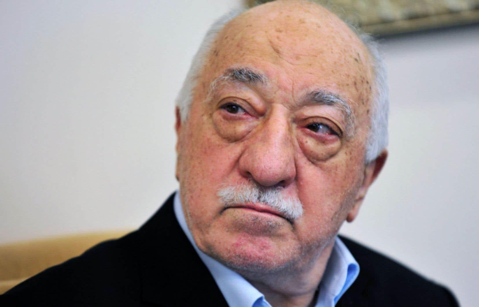 Fethullah Gülen est accusé d'avoir ourdi le putsch avorté du 15juillet dernier.