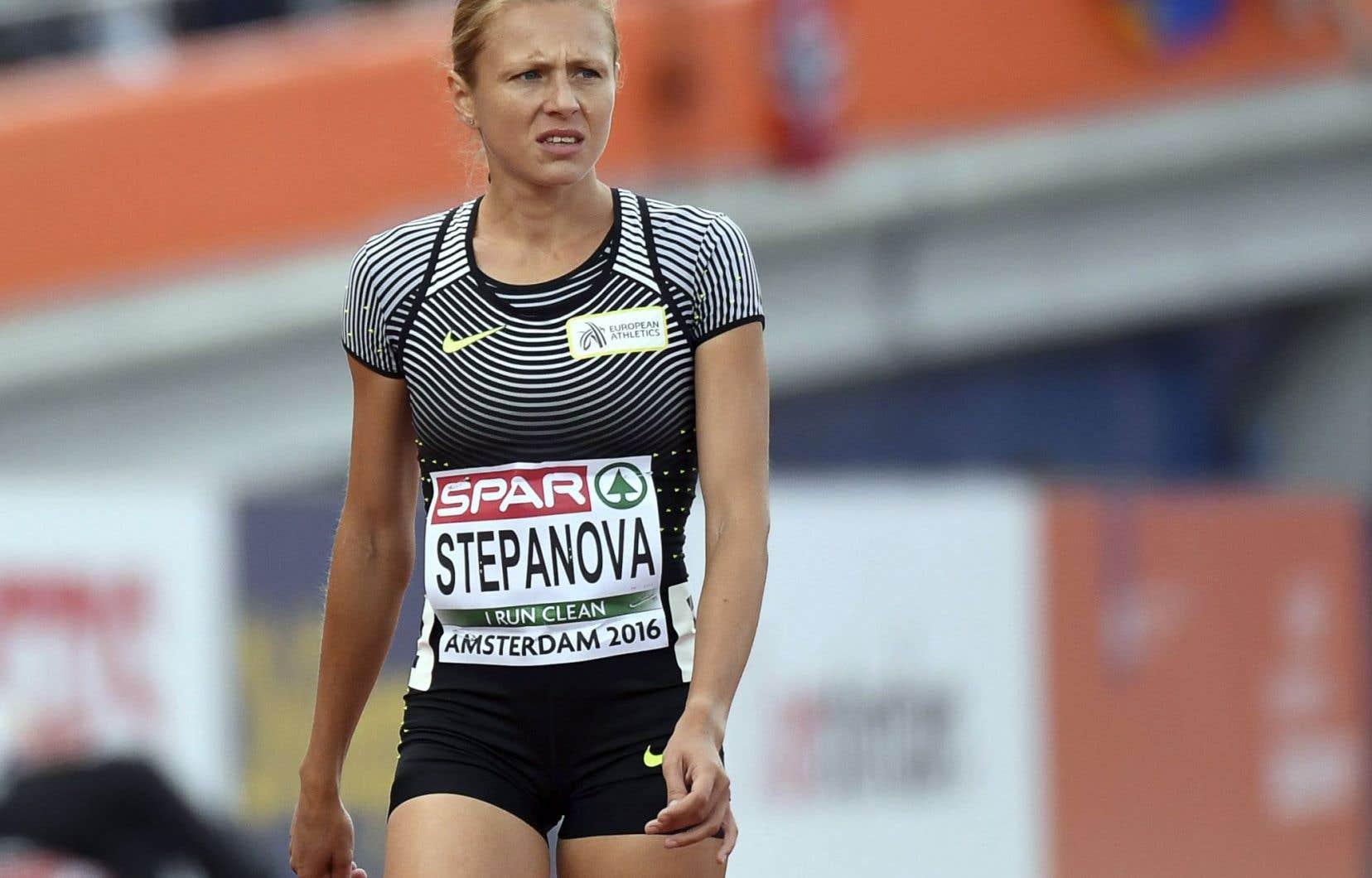 Le compte d'Yulia Stepanova sur le système Adams, où les athlètes se localisent pour pouvoir être contrôlés, a été piraté.
