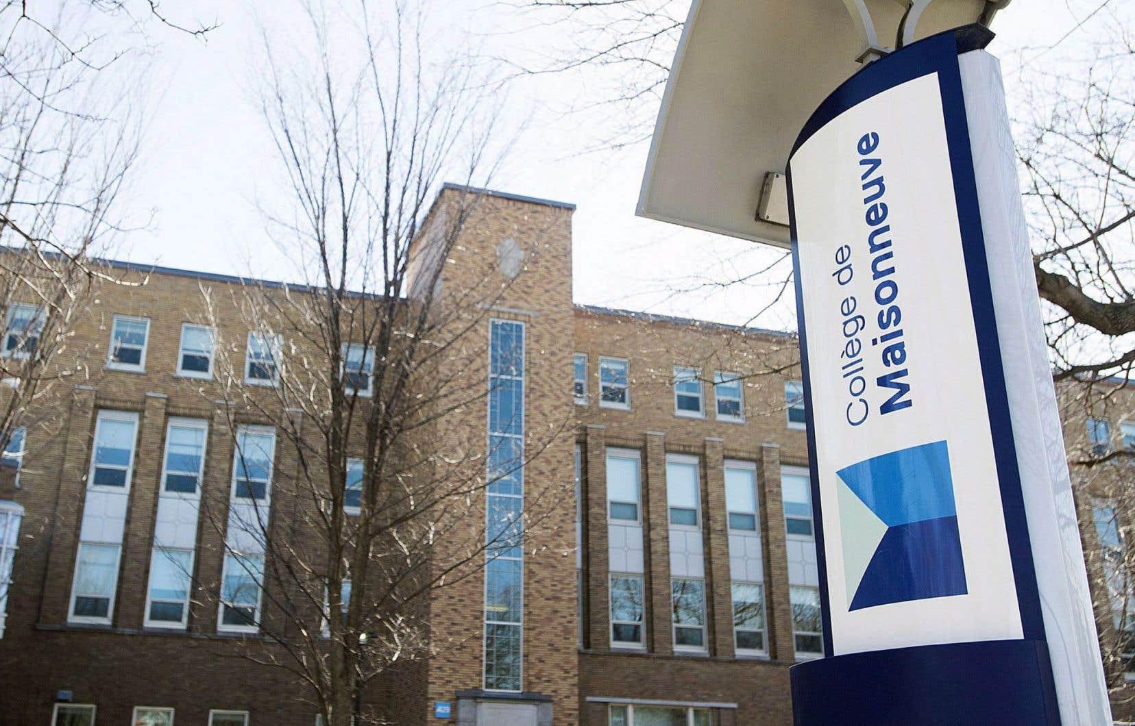 Des tensions, des bagarres sont aussi survenues entre des groupes du collège de Maisonneuve au cours des derniers mois.