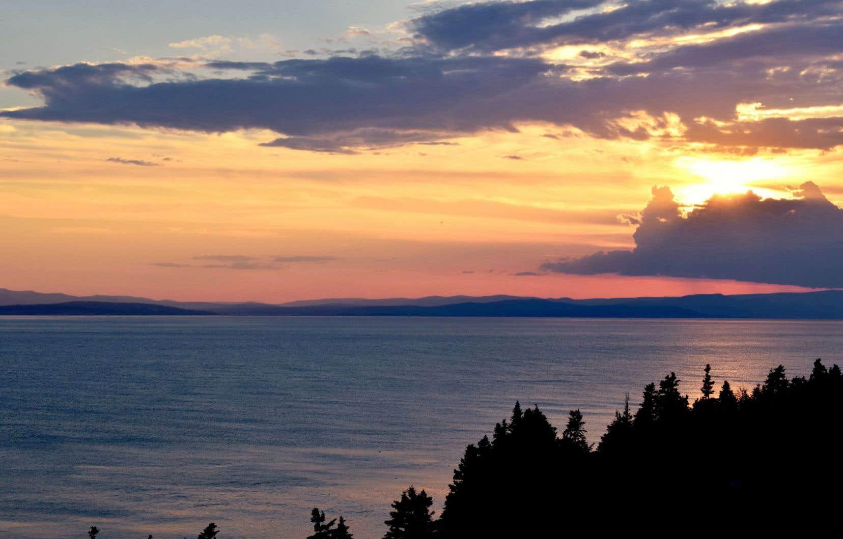 Pétrolia possède un permis d'exploration qui recouvre la quasi-totalité de la baie de Gaspé.