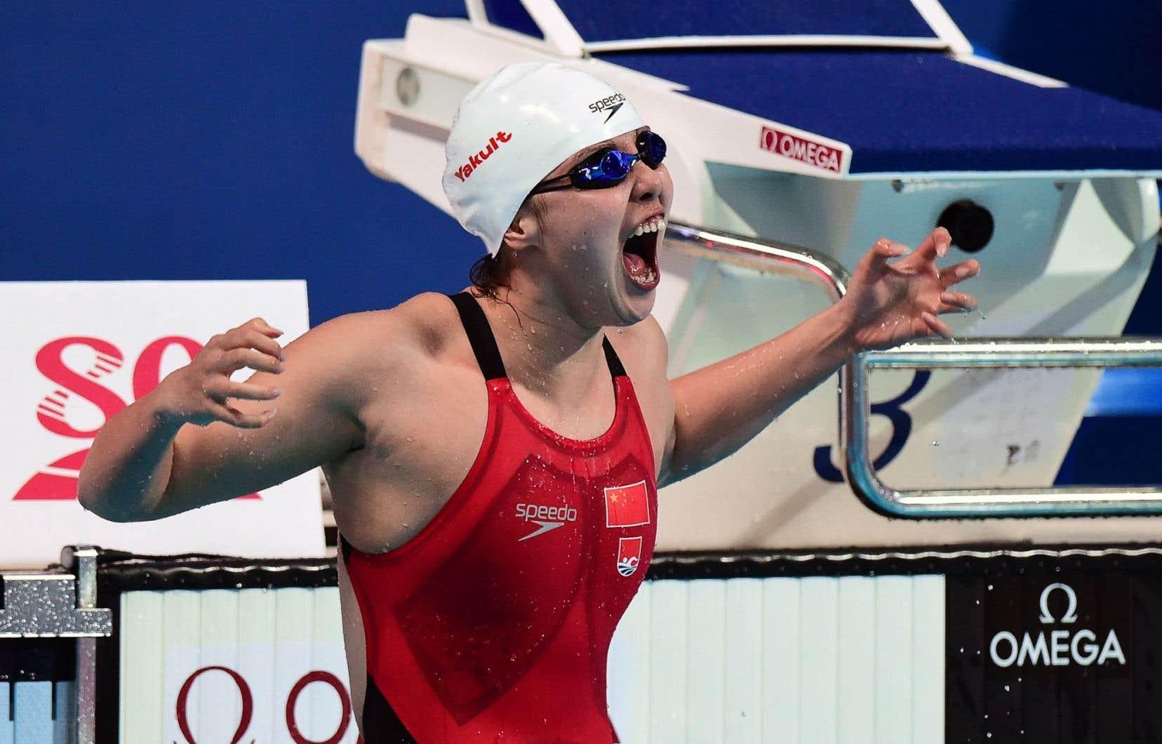 La nageuse chinoise Fu Yuanhui