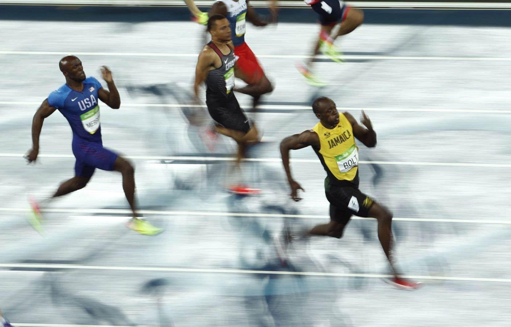 Le coureur Usain Bolt a empoché une huitième médaille d'or olympique jeudi soir.