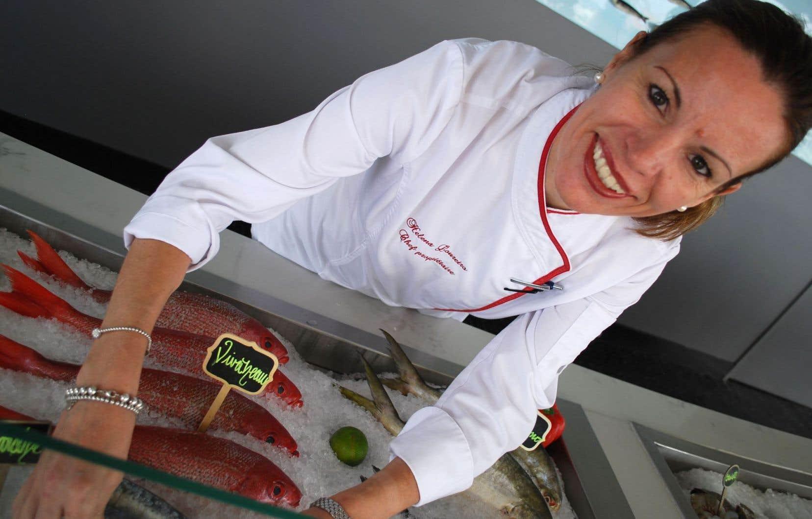 Avec quelques autres restaurateurs portugais, Helena Loureiro a grandement contribué à faire découvrir ici cette cuisine, mais aussi les vins portugais et le fado. Le poisson est son aliment privilégié