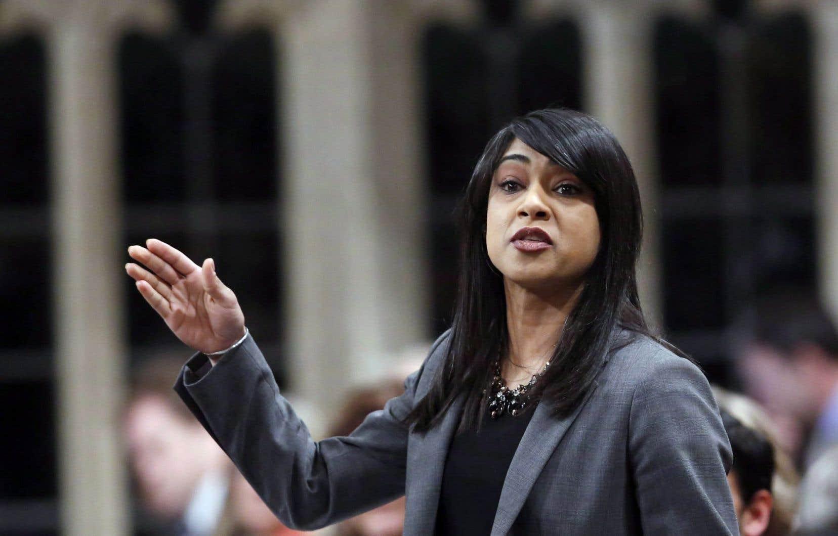Bardish Chagger conserve son ministère en plus de devenir la première femme leader parlementaire du gouvernement.