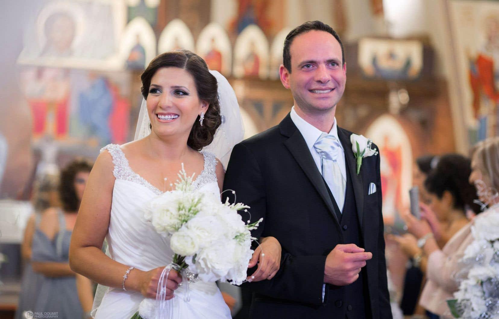 D'origine libanaise, Nayla est maronite tandis que que Jean est chrétien orthodoxe.