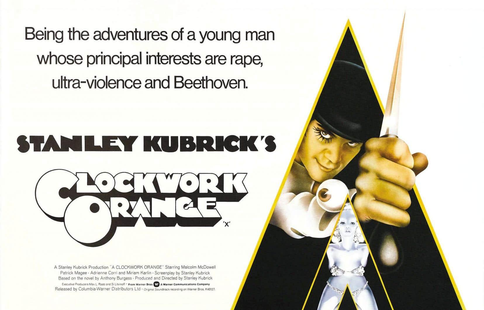 L'affiche originale du film iconique de Stanley Kubrick