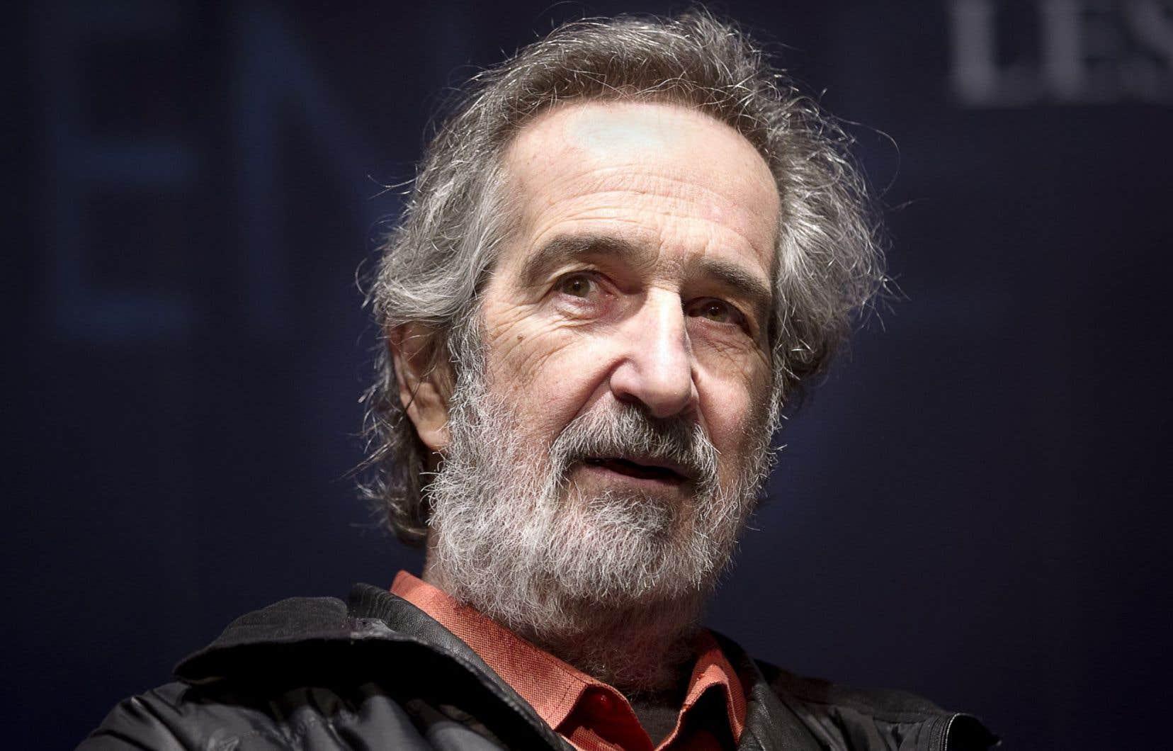 André Melançon, lors d'une remise de prix en 2012