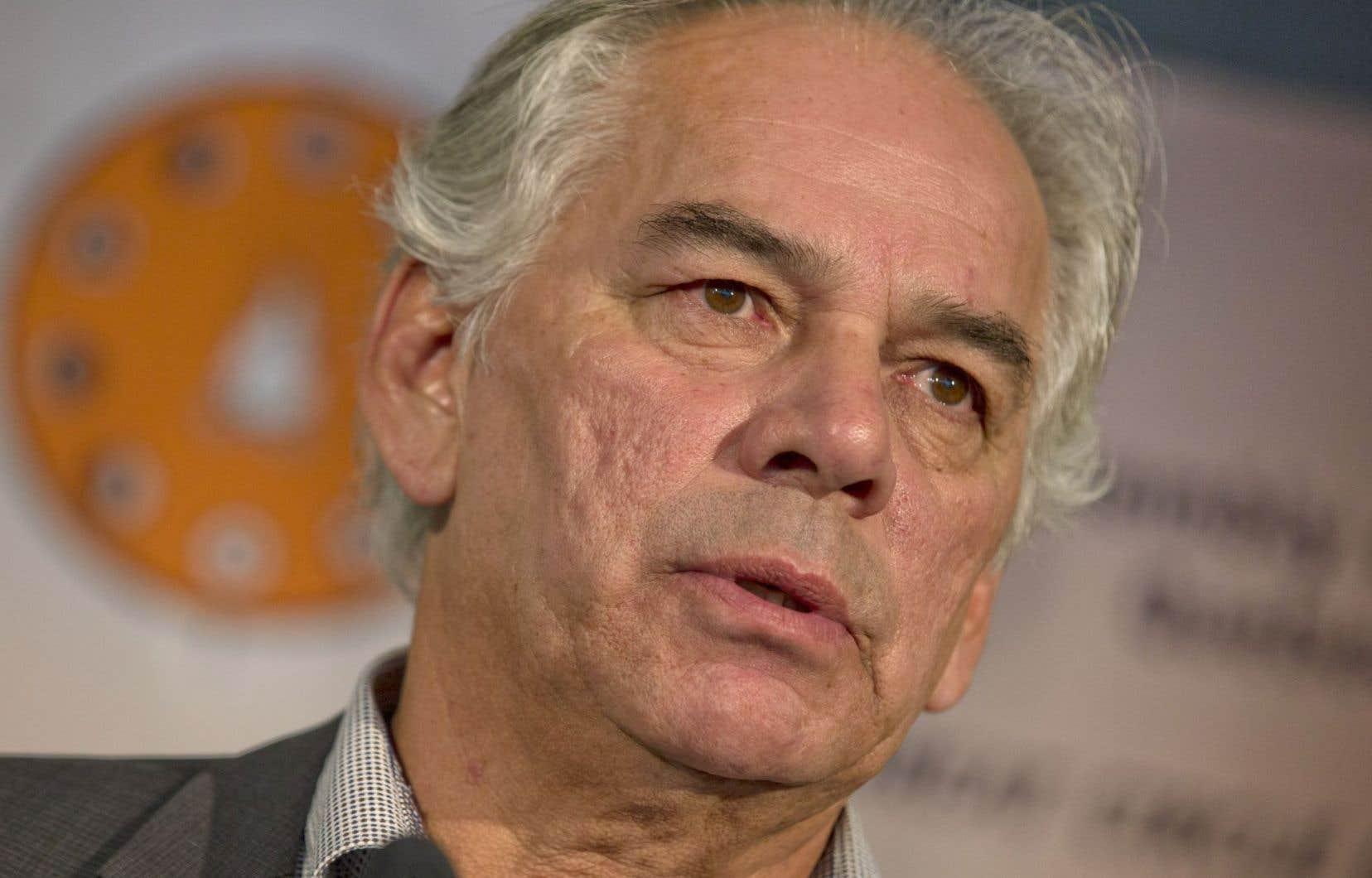 Le chef de l'APNQL, Ghislain Picard