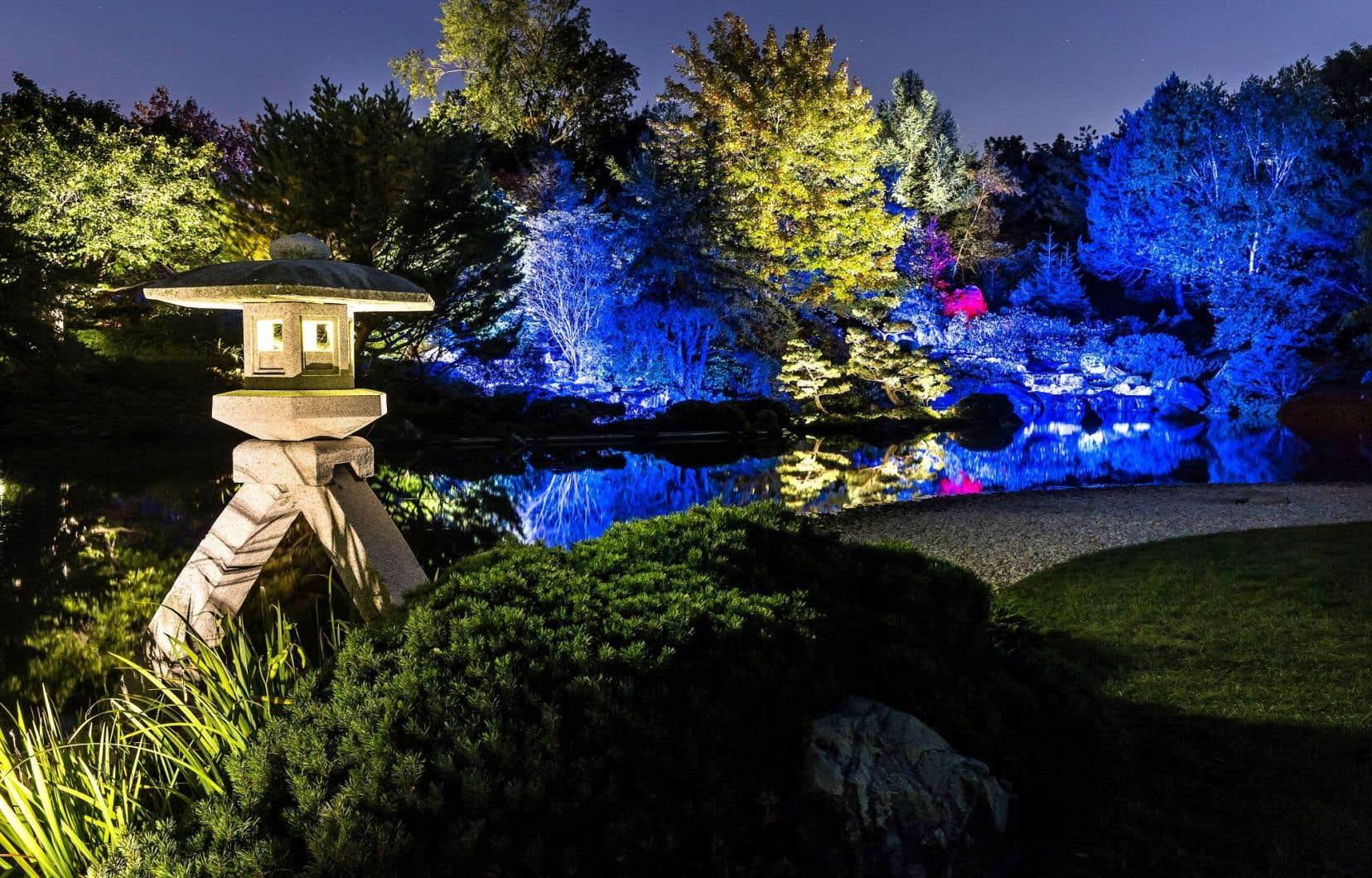 Une vue du Jardin japonais