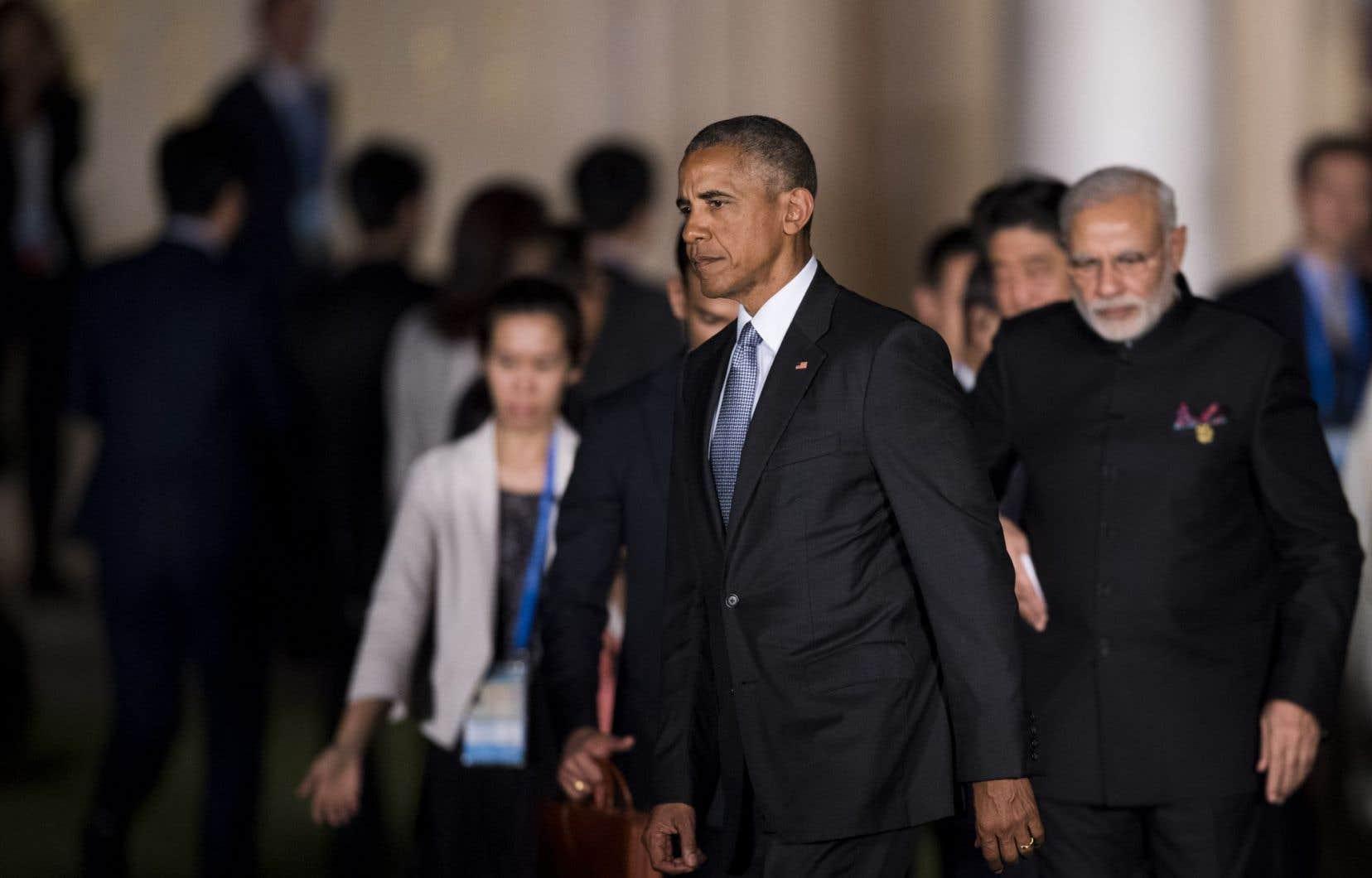 Ce sommet du G20 est la dernière visite officielle en Chine du président américain Barack Obama.