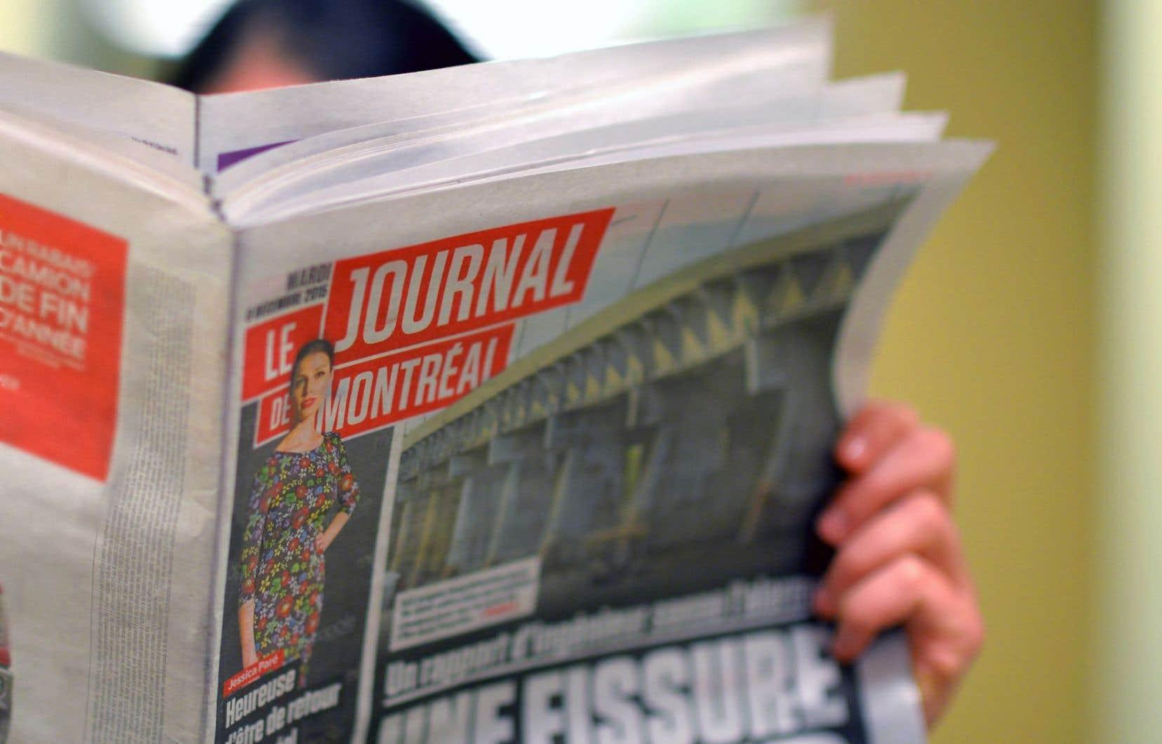 Média QMI, propriétaire du «Journal de Montréal», a demandé au site satirique, en juillet, de cesser la diffusion de publications portant le nom «Journal de Mourréal».