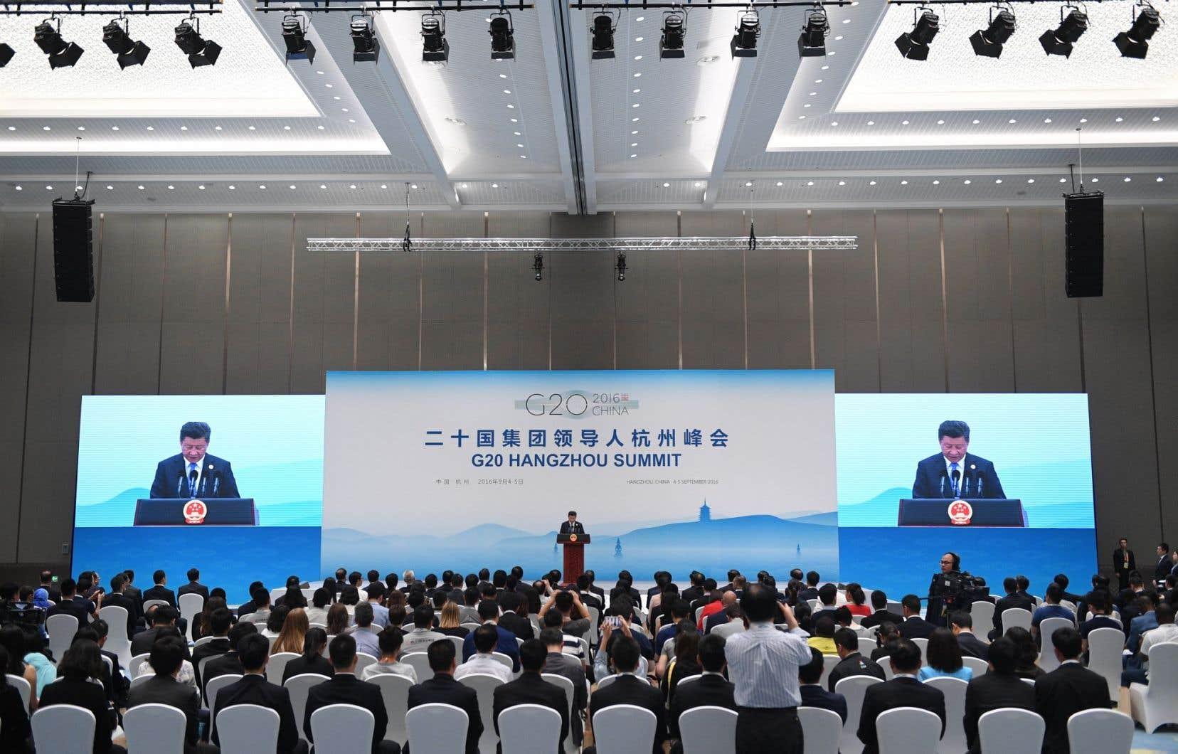 Le président de la Chine, Xi Jinping, a prononcé son discours de clôture du sommet du G20 de Hangzhou, lundi.