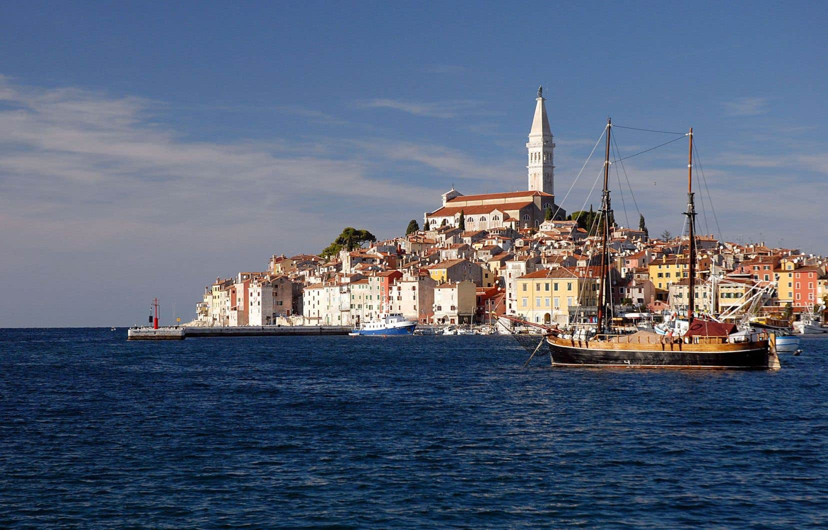 La ville de Rovinj, en Croatie, a un peu beaucoup de Venise, les millions de touristes en moins.