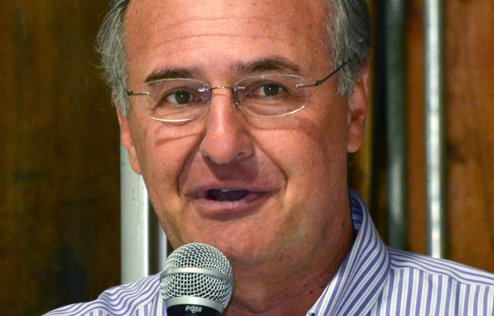Le chef de Démocratie Québec, Paul Shoiry