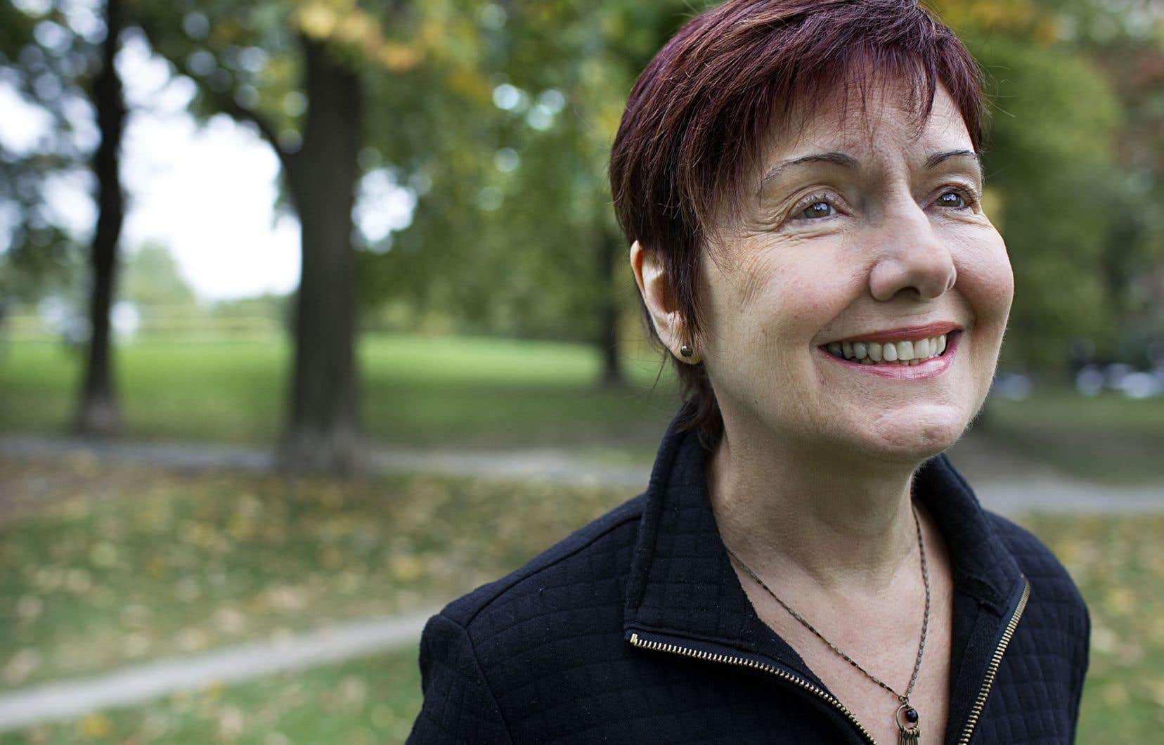 La poète et romancière Louise Dupré