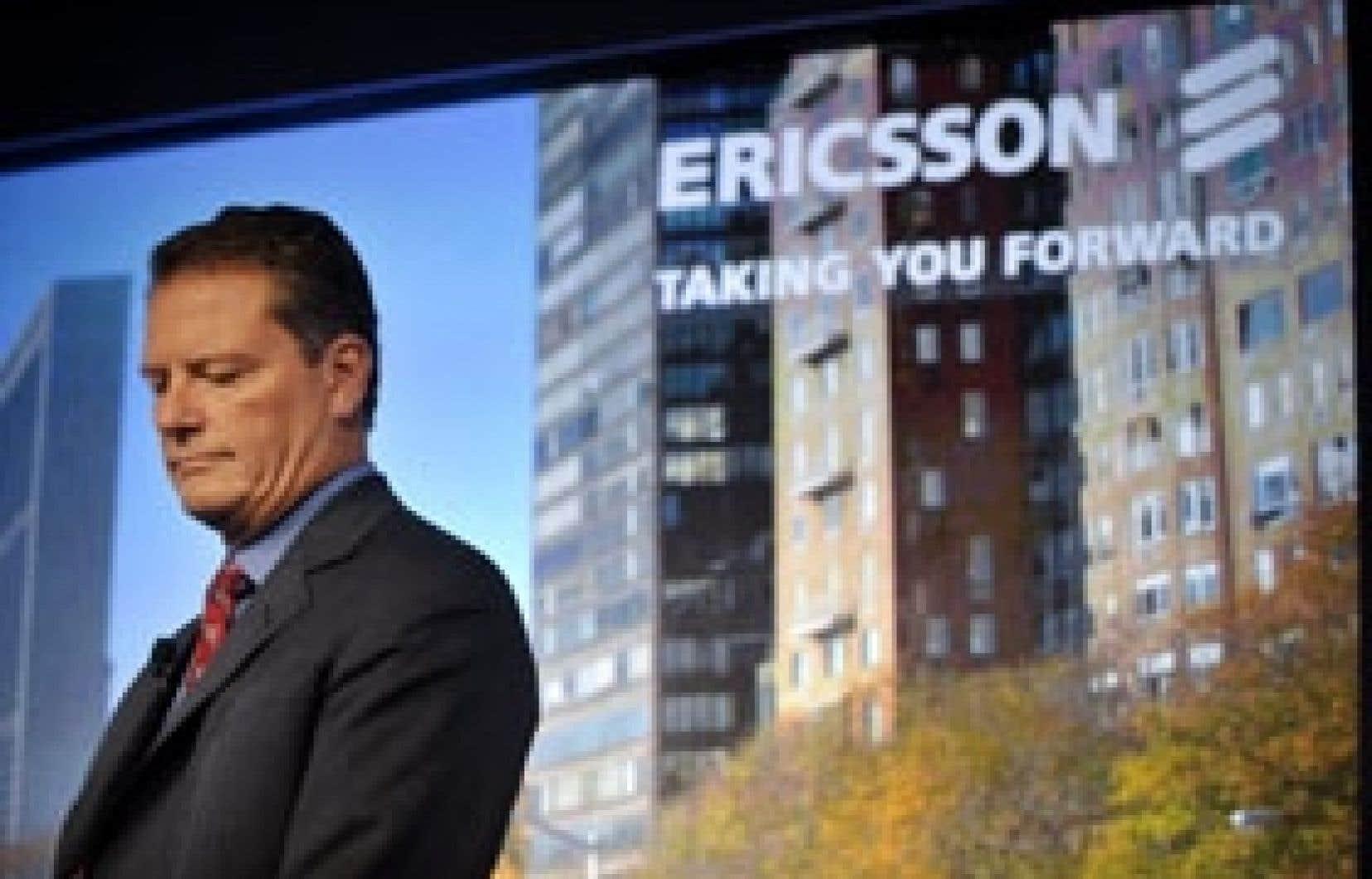 Le chef de la direction d'Ericsson, Carl-Henric Svanberg, a rappelé hier que l'entreprise poursuivait son plan de restructuration entrepris l'an dernier.