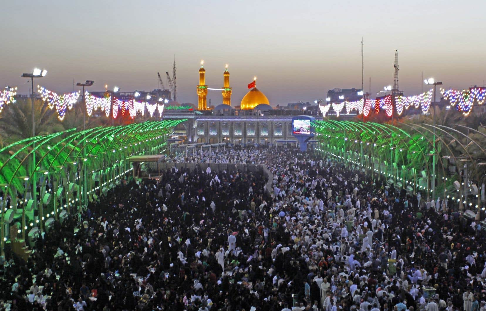 Des centaines de milliers d'Iraniens ont convergé ce week-end vers la ville sainte chiite de Kerbala.